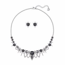 Swarovski Fantastic earrings and necklace set
