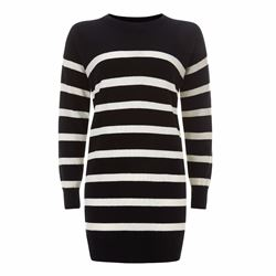 Jaeger Black and white sweater
