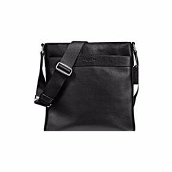 Men's Bowery cross-body bag in leather