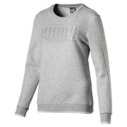 PUMA Ladies Light Grey Jumper