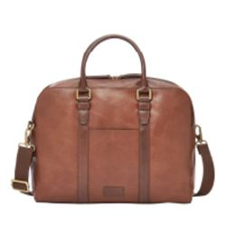 Fossil Wyatt workbag in brown