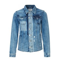 Denim jacket different tones