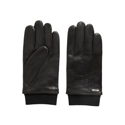 Hugo Boss Men's Black Herbo Gloves