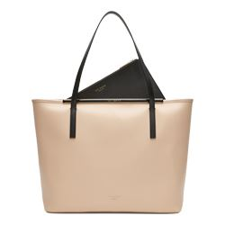 Enamel Xhatch Large Shopper