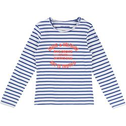 ZADIG&VOLTAIRE Blue Stripe Long-sleeve T-Shirt