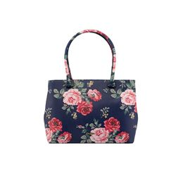 Cath Kidston Pink and Red Flower Design Bag