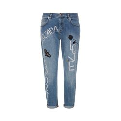 Escada  Blue logo jeans from Bicester Village