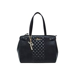 Guess Women's black Sabas Satchel