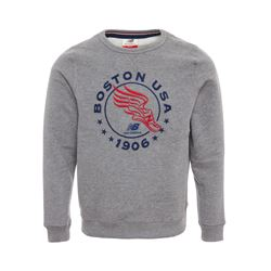 New Balance Grey Crew jumper from Bicester Village