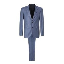 Traje Mayfair Blue Texture Hackett