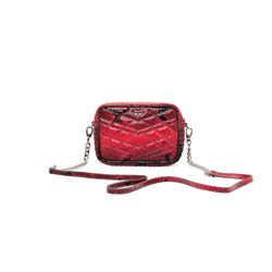 Zadig & Voltaire, Red python leather bag