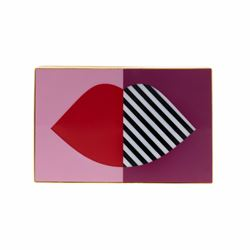Lulu Guinness 50 : 50 Lip Olivia clutch