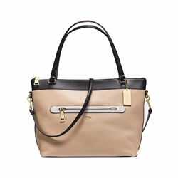 Tyler Colour Block Tote