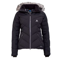 Women's Ski-jacket in black by Salomon at Ingolstadt Village