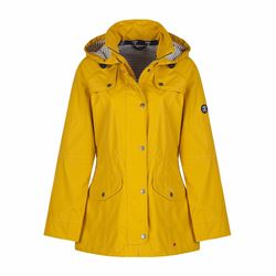 Barbour Ladies Trevose waterproof breathable jacket in yellow