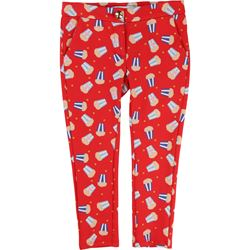 Little Marc Jacobs Red Pattern Trousers