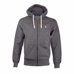 Men's Hoodie in Grey Heather