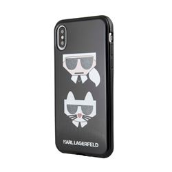 Phone case in Black IPhone XS by Karl Lagerfeld at Ingolstadt Village