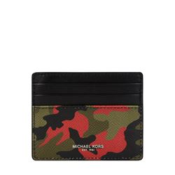 Card case in green by Michael Kors Mens at Ingolstadt Village
