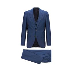 BOSS navy Jerron/Lenon1 WE suit from Bicester Village