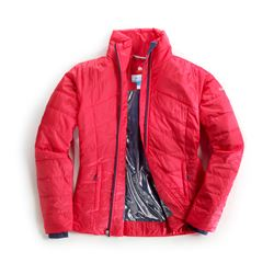 Veste zippée rouge Morning Light
