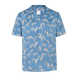 Palms blue shirts