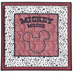Pinko - foulard rosso - mikey mouse
