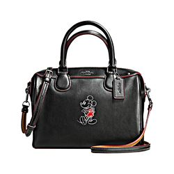 Coach Black Mickey Leather Mini Bennett from Bicester Village