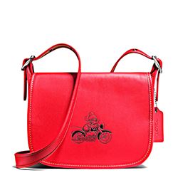 Women's bag 'Mickey Leather Patricia' in red by Coach at Ingolstadt Village