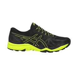 ASICS Men's Black/ safety yellow