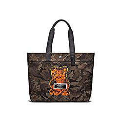 Coach men's Canvas Tote Camo graphic