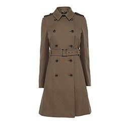 Militar green trench coat