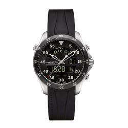 Hour Passion Hamilton flight timer quartz in black