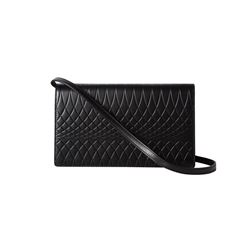 Paul Smith Black No. 9 Womens wallet pochette from Bicester Village