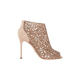 Sergio Rossi nude Tresor bootie from Bicester Village