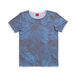 Guess Men's Blue T-Shirt