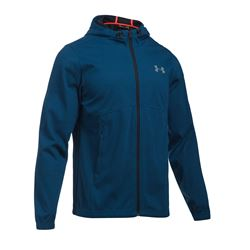Men's jacket in blue by Under Armour at Wertheim Village