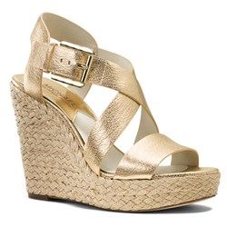 Giovanna Wedge Pale Gold