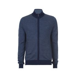 Brooks Brothers Full Zip Navy Sweater