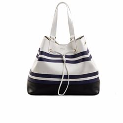 Bag in white by Furla at Wertheim Village