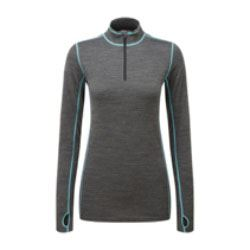 Creation Womens TCZ Merino Long Sleeve Zipneck