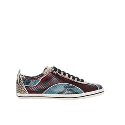 Marc Jacobs snake print Greenwich retro sneakers from Bicester Village