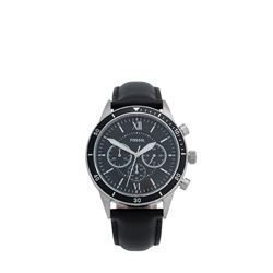 Men's watch in black by Fossil at Wertheim Village