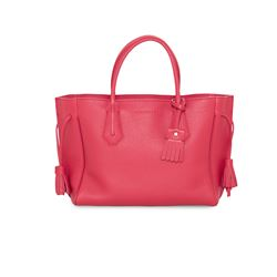 Red 'Penelope' handbag