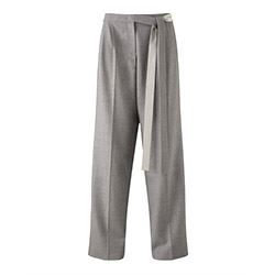 Jigsaw Wool flannel slouch trousers