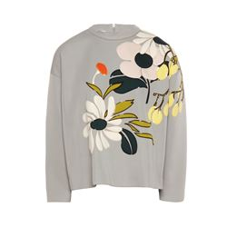 Marni  Floral scuba sweater from Bicester Village