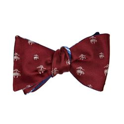 Brooks Brothers red bow tie