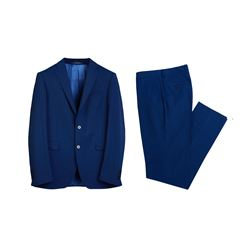 Suit in royal blue by Boggi Milano at Wertheim VIllage