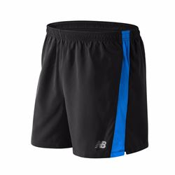 New Balance Men's Accelerate 5inch Short in Blue and Black