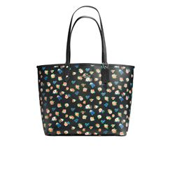 Reversible tote in black/multi by Coach at Ingolstadt Village